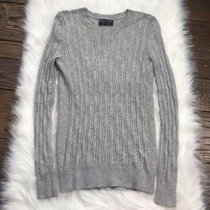 ✨ Grey Filpucci Cable Knit Sweater